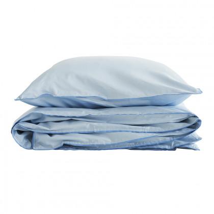 Semibasic sengetøj - blå