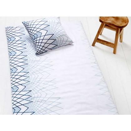 Compliments sengetøj Zig Zag hvid