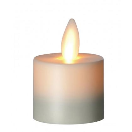 Sompex LED-fyrfadslys elfenben