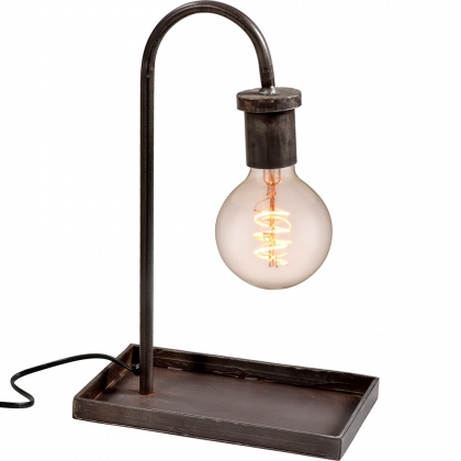 Trademark Living bordlampe med enkelt look
