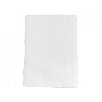 Zone badehåndklæde Classic hvid