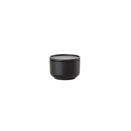 Zone skål og fad Peili 3-i-1 sort 0,25 l
