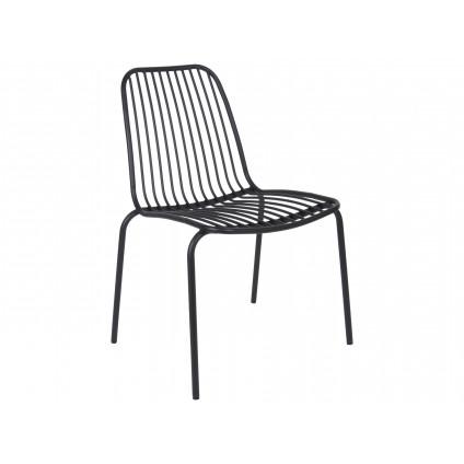 Leitmotiv havestol i stål – sort