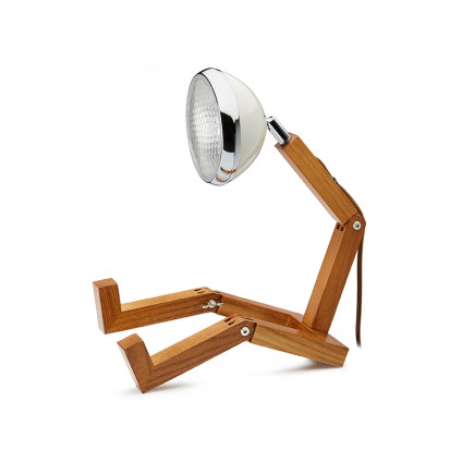 Mr. Wattson LED-lampe Vintage White