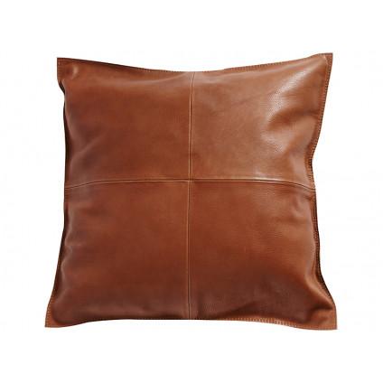 MUUBS pude Mocca brun læder