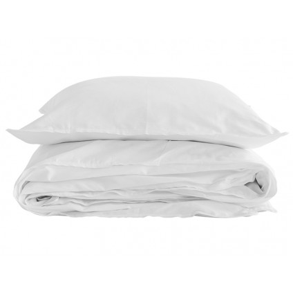 Semibasic sengetøj Egypt hvid