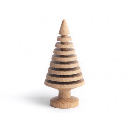 The Oak Men juletræ stor rillet lys eg