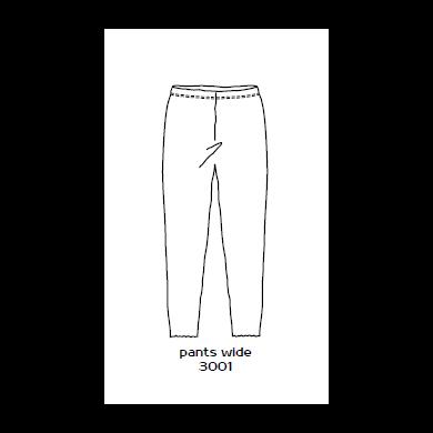 by basics leggings - lysegrå