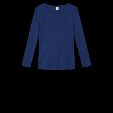 by basics bluse - marineblå