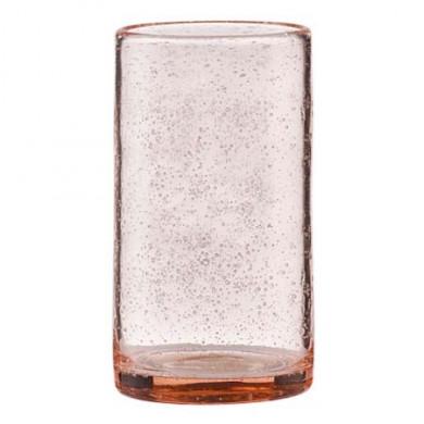 Cozy Cora højt glas - rosa