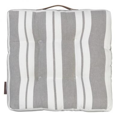 Cozy Living hynde Striped Cotton - mud, 4 stk.