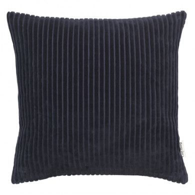 Cozy Living fløjlspude - Royal Blue, 2 stk.