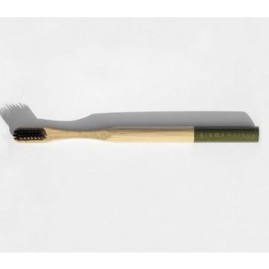 Grums bambus tandbørste - grøn
