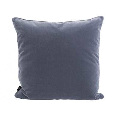 Semibasic sofapude Lush Velour - mørkegrå