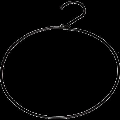 Trademark Living rund bøjle - sort