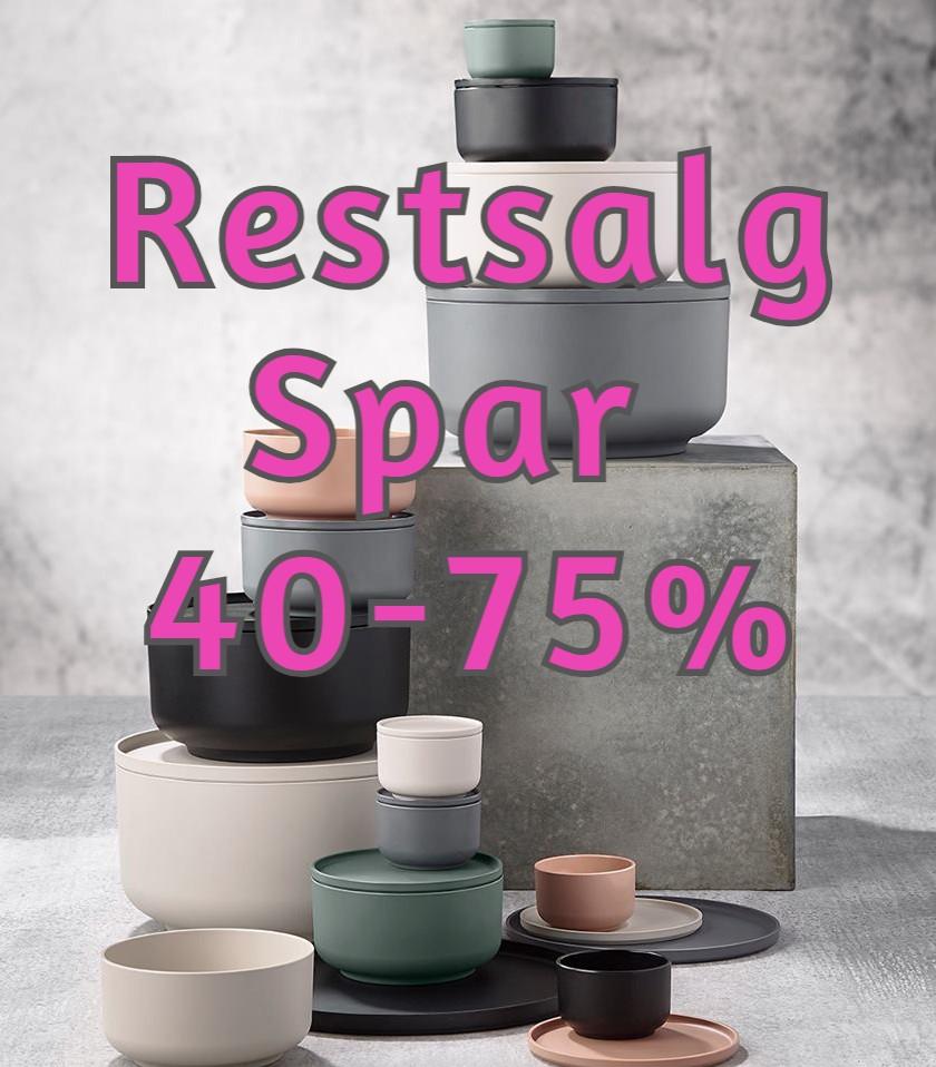 Restsalg Spar 40-75%